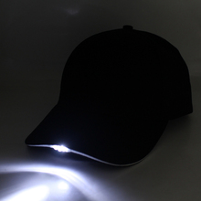 Fashion cool fish caps/ hat glow in the dark led light torch caps