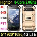 2017 NEW 8-Core Android 7.0 4G Rugged Smartphone with 4+64G waterproof mobile phone