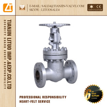 carbon steel gate valve gear operated, rising stem gate valve