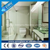 5mm/6mm/8mm tempered glass shower wall panels