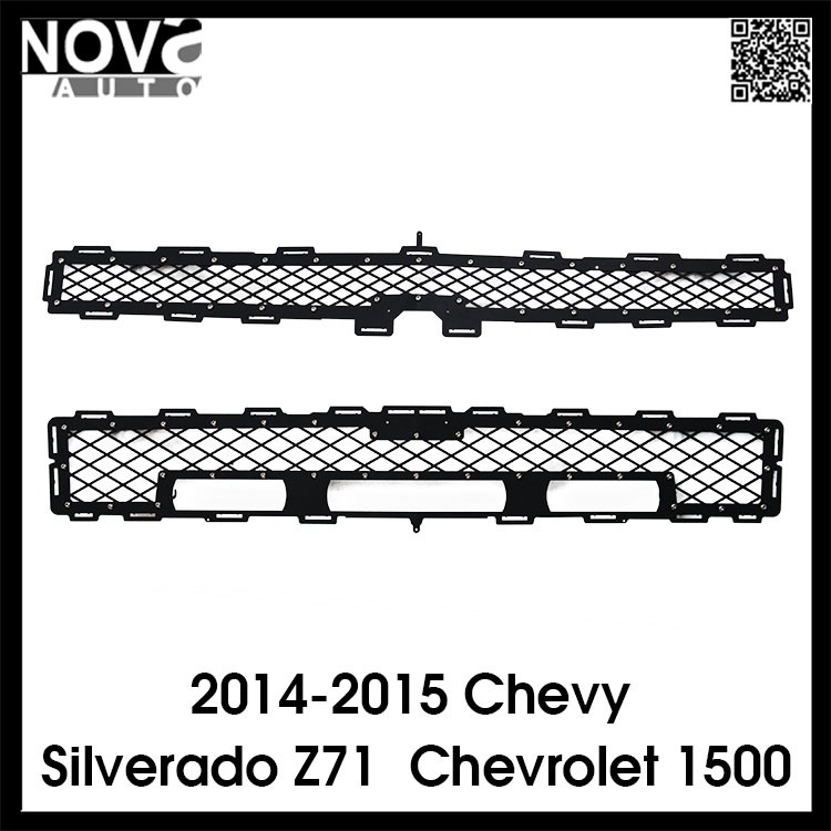 2014-2015 Chevy Silverado Z71 Body Parts Custom Made Front Car Grills