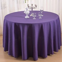 108 inches fancy round wedding table decorations table cover
