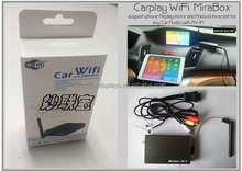 Mracast wifi box from tablet iphone ipad to Car DVD