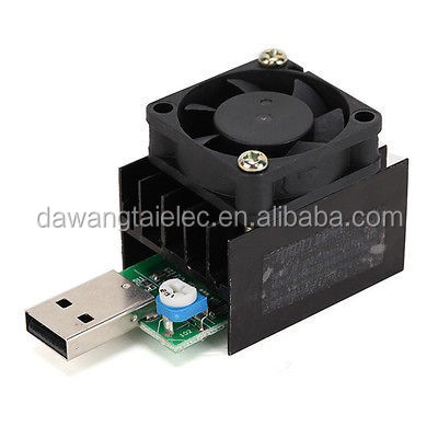 Adjustable Constant Current Electronic Load Device Aging USB Discharger