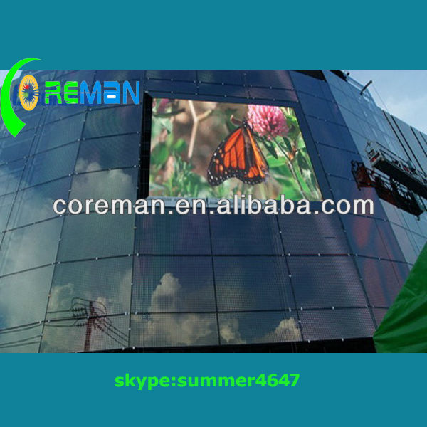 alibaba cn outdoor p10 advertising led display board /big board advertising led display