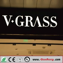 3D top quality led sign board mini letter from shanghai Bobang