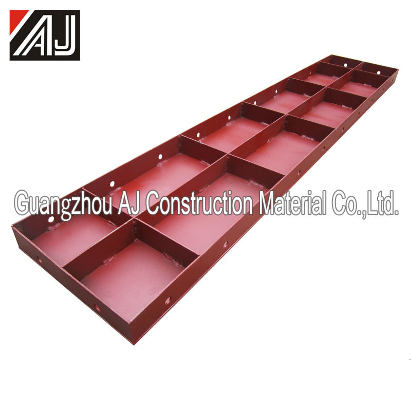 Reusable shuttering plate concrete formwork scaffolding column formwork for construction pouring cement