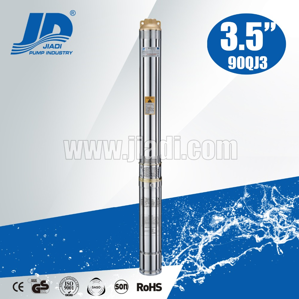 3.5 inch 90QJ series chinese small electrical submersible pumps dirty water centrifugal pump