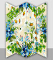Lucky clover art prints room dividers ,artwork room screen,plywood screen room dividers