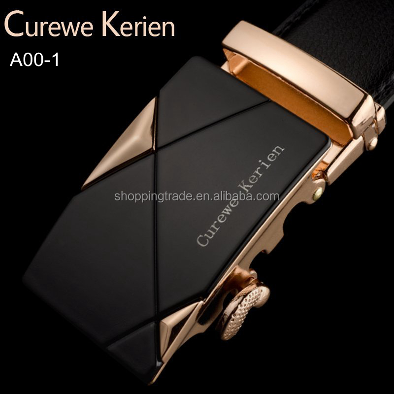 Hot selling Curewe Kerien man leather <strong>belt</strong>