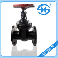 8inch flange water cast iron Non Rising Stem gate valve price for water usage
