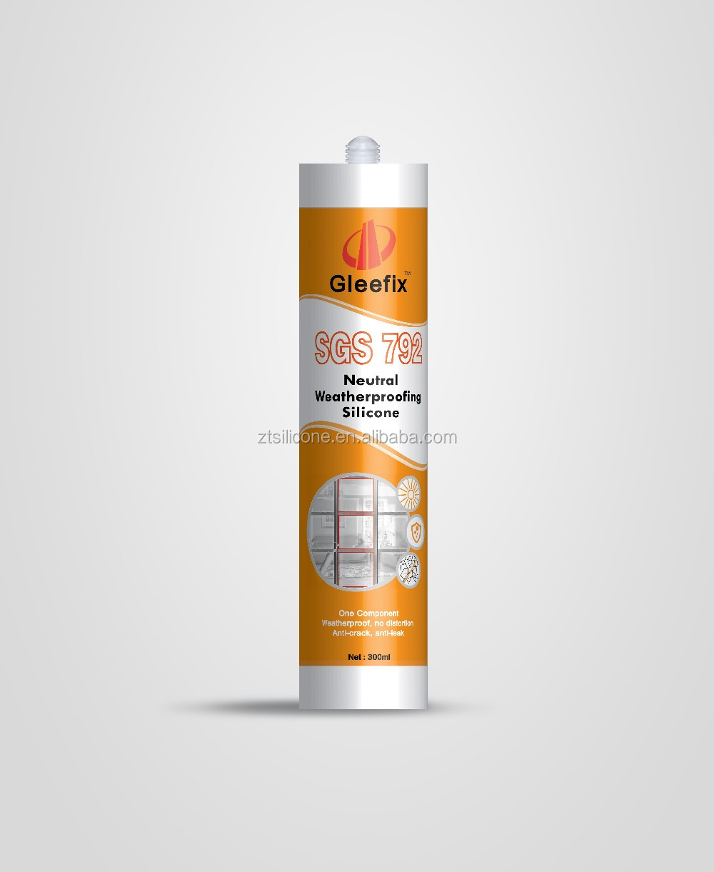 High Adhesive Strength And High Modulus Neutral Waterproof Silicone Sealant /Adhesive