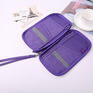 Passport Holder Organizer Travel Wallet