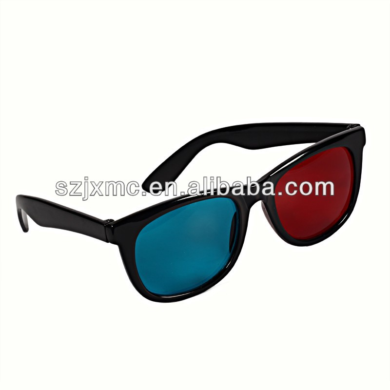 3d glasses, red cyan 3d glasses, red/blue lens 3d glasses