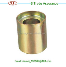 Nonstandard aluminium/brass bushings knurled cap