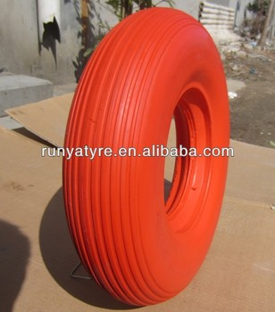 PU Foam wheel 4.00-8
