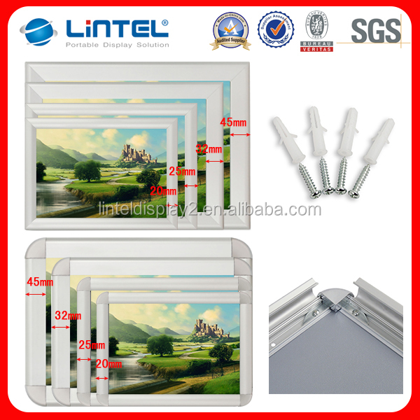 different promotion aluminum picture frame moulding