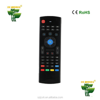 2.4g wriless air fly mouse z4 android tv box remote control for STB/TV