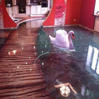 3D Epoxy Flooring for Homes