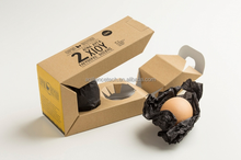 2016 Eco-friendly Two/Six/Ten Pack Recycle Paper Egg Boxes, Double Hard Safety Egg Packaging Box, Custom Egg Wrapping Boxes