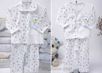 Pretty clothes sets cotton baby clothes clothing with button