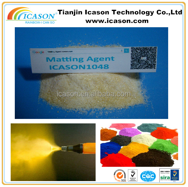 BUFF POWDER MATTING AGENT / POWDER COATING /EPOXY CURING AGENT ICASON1048