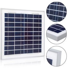 15 Watts Poly Solar Panel with Frame for 12 Volts Battery Charging
