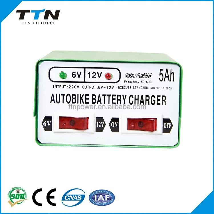 Environmental 12 Volt Battery Charger Circuit