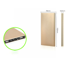 Luxury Polymer Super Slim Power Bank 20000mAh Portable Charger External Battery power bank