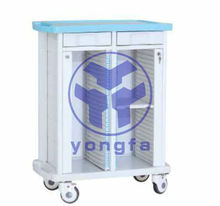 YFS-010 Double Sides Patient Clip Trolley