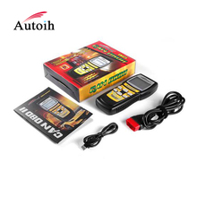 Hot selling machine KW825 obd2 full diagnostic scanner Vehicle Diagnostic Scan Tool LCD Screen