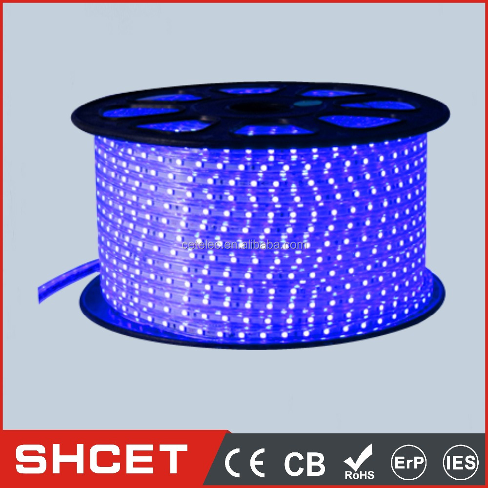 Yellow/blue/green/white/red 30LED Single Color 10-12LM SMD 5050 LED Strip/ Bar Light 7.2W DC12V 5M For Car