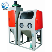 Closed type manual cleaning equipment,high quality sandblaster with sand blast gun