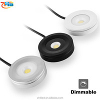 energy saving kitchen cabinet designs LED downlights light fixture of ceiling 3W led cabinet light