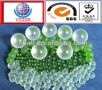 Practical 1.0 mm - 16 mm glass ball made in china