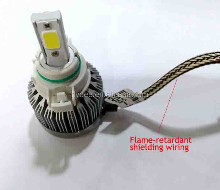 Slim size high power COB 36W 3800lumen H1 H3 H7 h8 h9 h11 C6 entry model car led headlight kit replacement halogen hid xenon kit