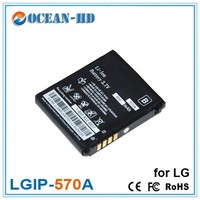 Extended 3.7V 900mAh Rechargeable Li Polymer Battery Pack for LG LGIP-570A