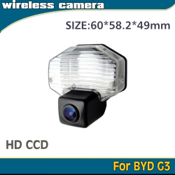 Chiyang HD CCD camera for BYD G3 in stock waterproof factory fast shipping wire wireless RCA 2.5mm port connect dvd monitor gps