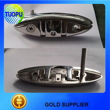 Factory outlet marine bollard folding ship cleats,mooring ship cleats boat flush cleat