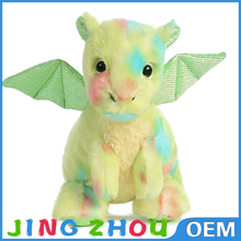 Best Plush Toy Vivid Color Plush Stuffed Flying Dragon Toy