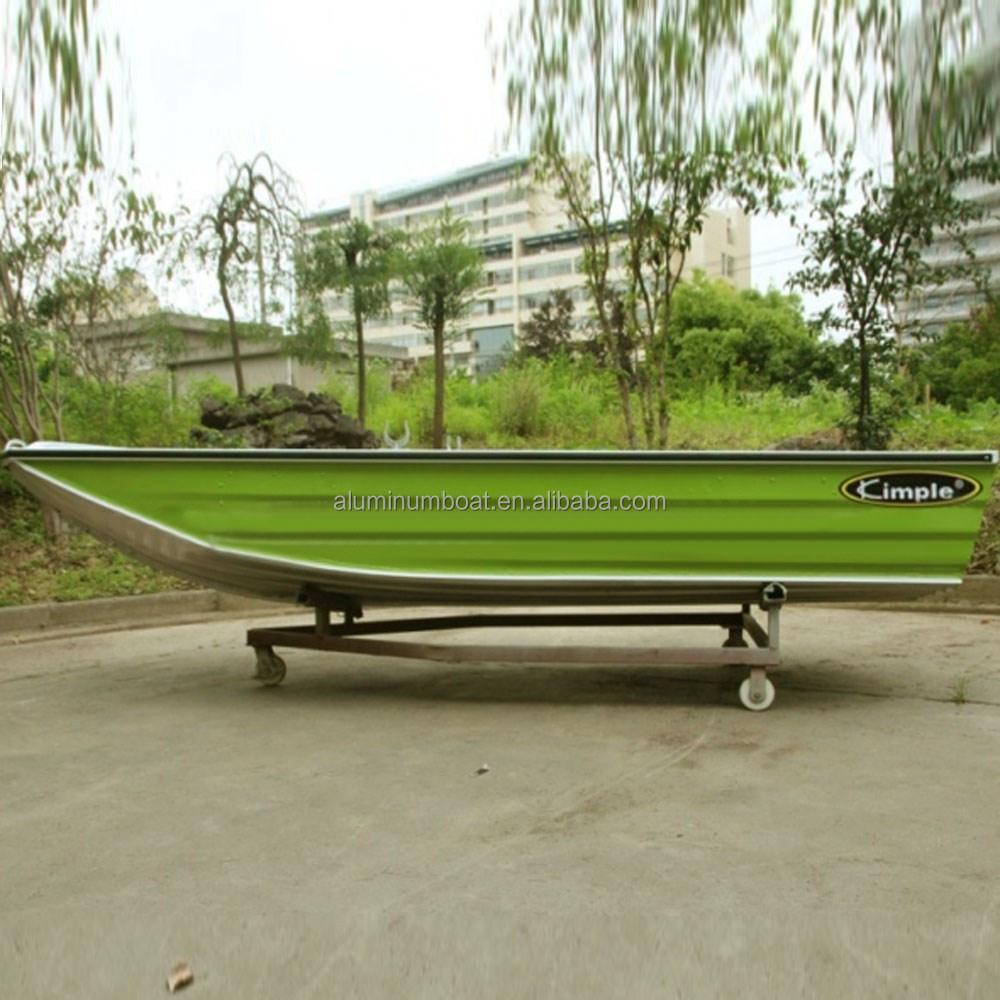 Aluminum boat 370 hunter fishing boat fast useful for Fast fishing boats