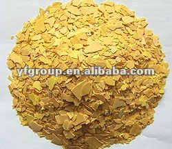 yellow flakes of sodium sulfide 60%