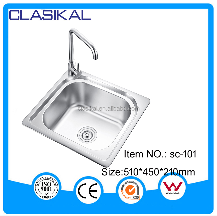 sc 101 modern simple design single bowl cheap price - Kitchen Sinks Cheap Prices