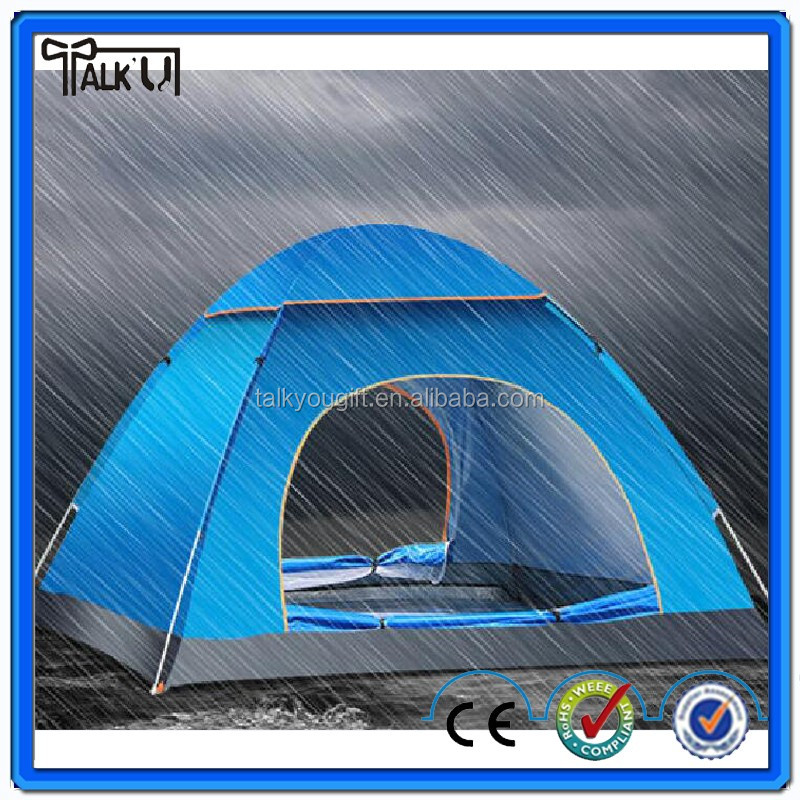 Large Family Camping Cabin Tent 3-4 Person Outdoor Tent Equipment Hiking Gear Outdoor Camping Tent