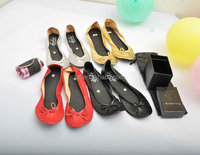 Women pu Leather Shoes Roll up Rollable shoes Soft Comfortable Pregnant Ballerina Ballet Flats Driving Shoes
