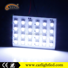 Good Quality Car LED Light 1210 6 SMD LED Interior Ceiling Lights 12V Auto Dome Lamp With T10 Festoon Adapter