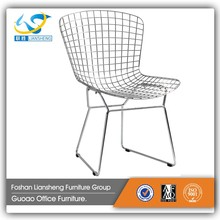 Wholesale cheap steel industrial retro cafe metal dining chair in Dining Chairs GA9431