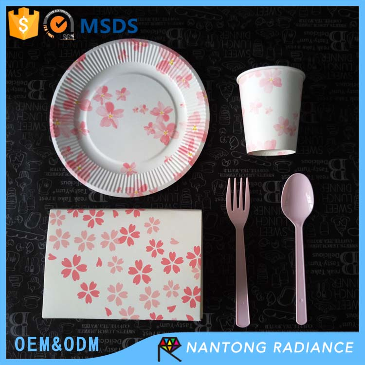 Wholesale Party Supply Disposable Paper Plate