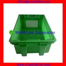 Nested and Stackable Plastic Agricultural Fruit Tray