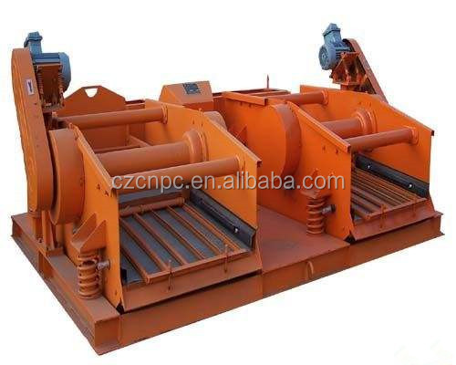 Oil field solid control system shale shaker
